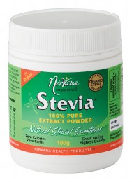 Stevia 100% Pure Extract Powder Large 100gm