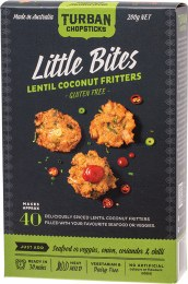Little Bites Lentil Coconut Fritters