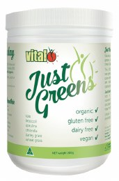 Vital Just Greens Superfood Powder 200gm