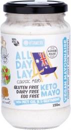 Keto Mayonnaise - All Day Lay Classic Mayo 350ml