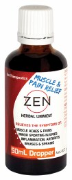 Zen Herbal Liniment Dropper 50ml