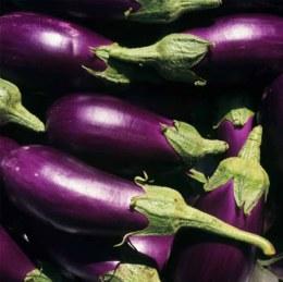 Eggplant Black/Purple 500gm