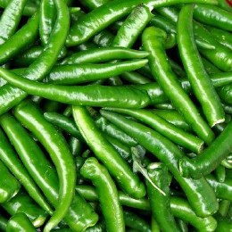 Chillies Green Cayene 100gm