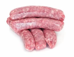 Beef Sausages Thick 500gm