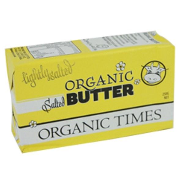 Butter Lightly Salted 250G Nz