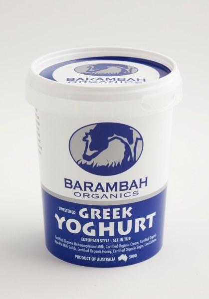 Yoghurt Greek 500G Tub