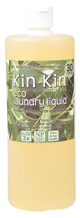 Laundry Liquid (Ultra Conc.) Eucalypt & Lemon Myrtle 1050ml