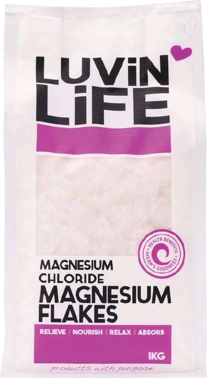 Magnesium Flakes Magnesium Chloride 1kg