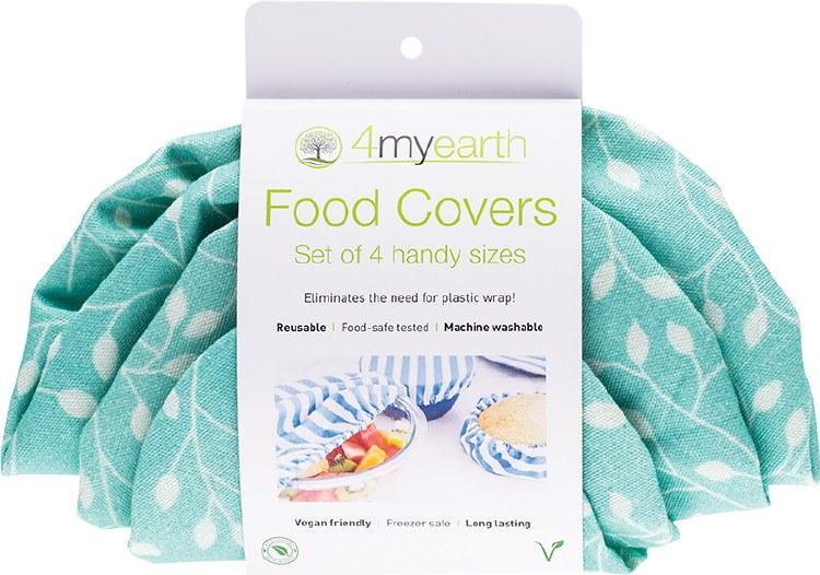 Food Cover Set Leaf - XS,S,M & L