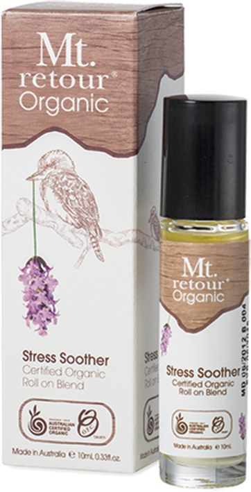 Essential Oil (100%) Stress Soother Blend (Roll-on) 10ml