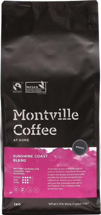 Coffee Beans Sunshine Coast Blend 1kg