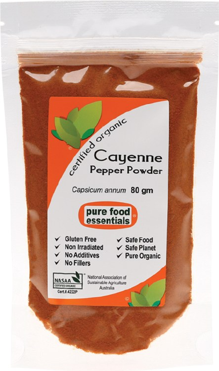 Spices Cayenne Pepper 80g