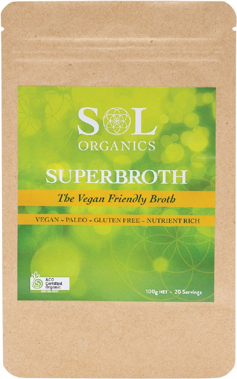 Superbroth Vegan Friendly Broth 130g