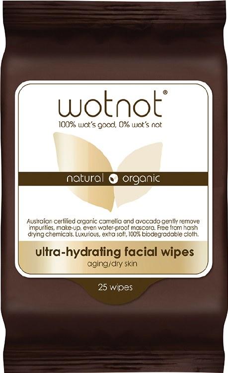 Facial Wipes Dry + Sensitive Skin 25