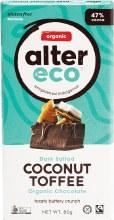 Chocolate (Organic) Dark Coconut Toffee 80g