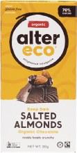 Chocolate (Organic) Dark Salted Almonds 80g