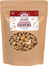 Activated Organic Cashews  300g
