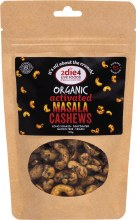 Activated Organic Masala Cashews  120g