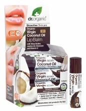 Lip Balm - SPF 15 Organic Virgin Coconut Oil 5.7ml
