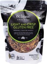 Organic MuesliGluten Free Light and Crisp 380g