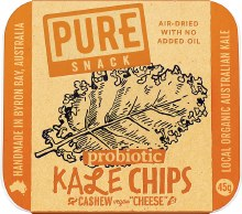 Pure - Kale Chips Cashew 'Cheese' 45g