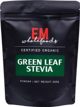 Green Stevia Leaf Powder 100% Pure 250g