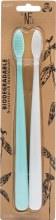 Bio Toothbrush (Twin Pack) River Mint & Ivory Desert