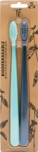 Bio Toothbrush (Twin Pack) River Mint & Monsoon Mist