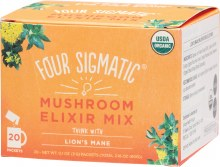 Mushroom Elixir Mix Packets With Lion's Mane 20