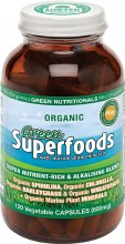 Green Superfoods Vegecaps (600Mg) 120