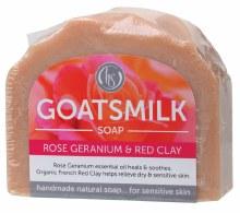 Goat's Milk Soap Rose Geranium 140g