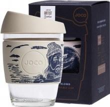 Reusable Glass Cup Artist Series 12oz  - Lars Huse