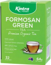 Formosan Green Tea Tea Bags x 32 64g