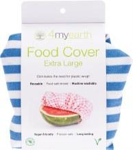 Food Cover Denim Stripe - XL