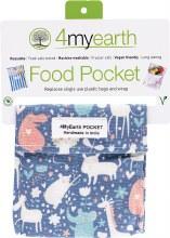 Food Pocket Animals -14x14cm