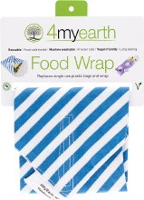 Food Wrap Denim Stripe - 30x30cm