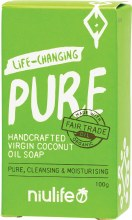 Coconut Oil Soap Pure - Unscented 100g
