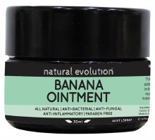 Banana Ointment All Natural Healing Ointment 30ml