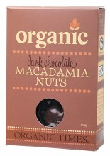 Chocolate Macadamia Nuts Dark Chocolate 150g