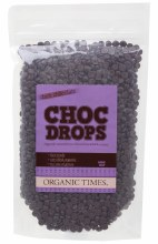 Choc Drops Dark Chocolate Couvertre Drops 500g