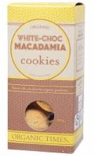 Cookies (Organic) White Choc Macadamia 150g