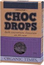 Choc Drops Dark Chocolate Couvertre Drops 200g