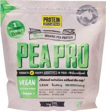 Peapro (Raw Pea Protein) Pure 1Kg