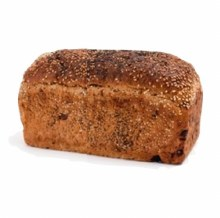 FRUIT TINNED LOAF 600G (SLICED THERMO BAGGED)