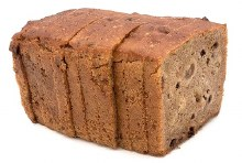 Gluten Free Fruit Tinned Loaf 749G (Sliced Thermo Bagged)