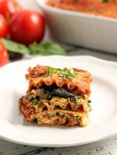 Lasagna Organic Mixed Vegetable (Tray 8 Slice) Vegan