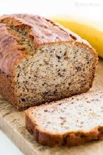 Banana & Walnut Organic Bread Loaf 500g (Thermo Bagged)