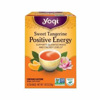 Yogi Tangerine Positive Energy