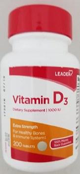 LDR Vitamin D3 1000 iu