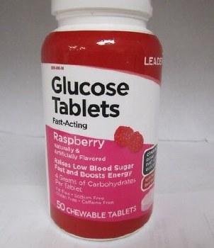 LDR Glucose Tablets Raspber 50
